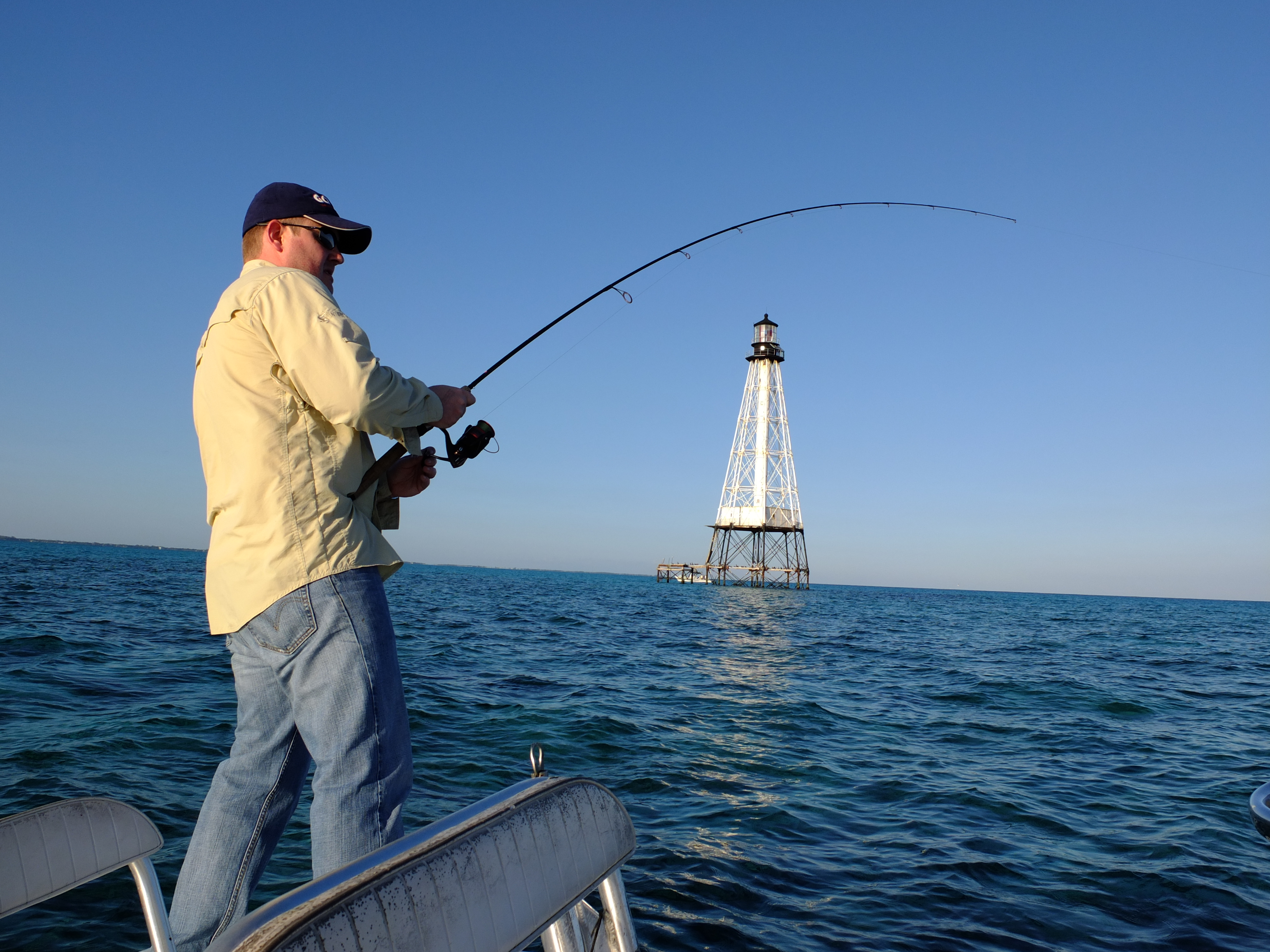 Winter time monsters are lurking jan 10 2012 florida for Florida keys fishing report