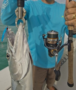 backcountry fishing for barracudas