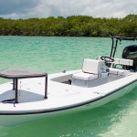 Flats fishing Skiff