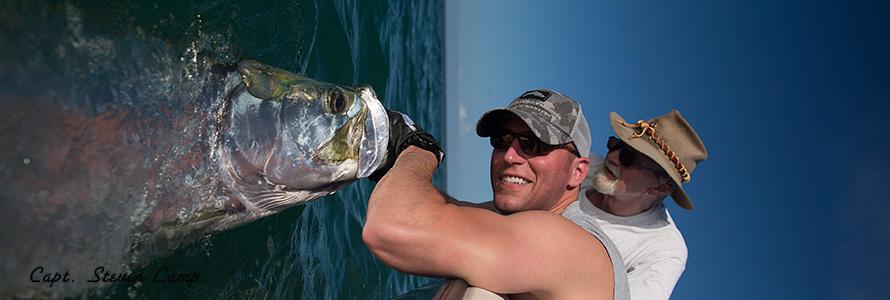 Tarpon Fishing With Capt. Steven Lamp